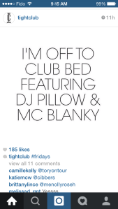 Regram from Tightclub